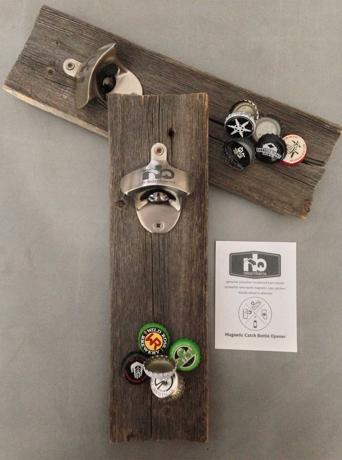 magnetic catch barn wood bottle opener - Magnetic Bottle Opener